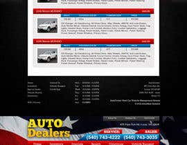 #12 untuk Design a Website Mockup for Used Car Dealerships oleh CreativeDezigner