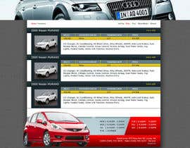 #17 para Design a Website Mockup for Used Car Dealerships por CreativeDezigner