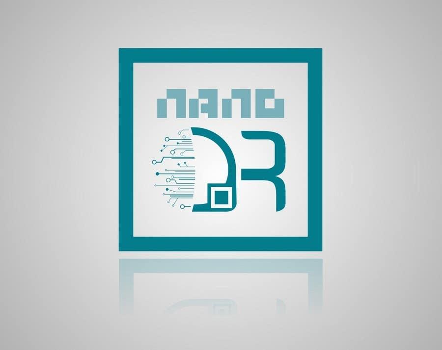 Kilpailutyö #123 kilpailussa Logo Design for NanoQR LLC, Paris