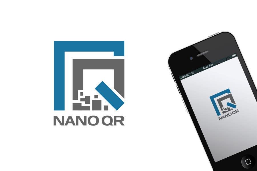 Kilpailutyö #132 kilpailussa Logo Design for NanoQR LLC, Paris