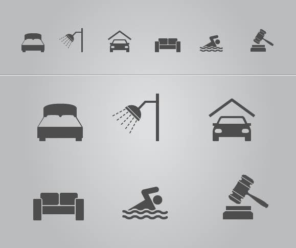 Contest Entry #12 for Design some Icons for a small, part-time real estate agency