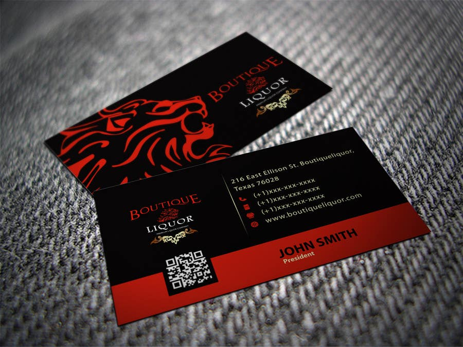 Liquor store business cards arts arts entry 46 by shyrosely for design some business cards boutique colourmoves
