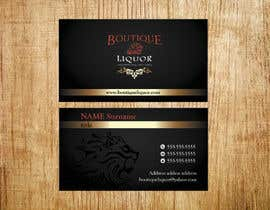 #138 para Design some Business Cards for Boutique liquor por Emanuella13