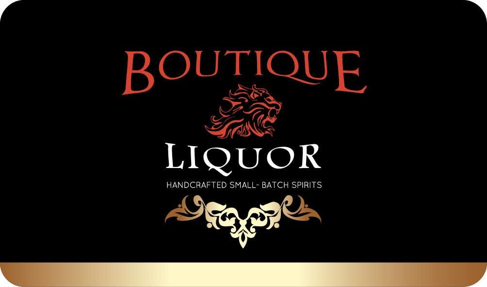 Contest Entry 110 For Design Some Business Cards Boutique Liquor