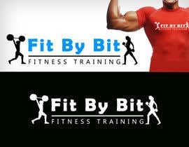 #111 para Logo design for Fit By Bit personal and group fitness training por RBM777