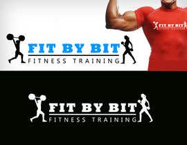 #93 para Logo design for Fit By Bit personal and group fitness training por RBM777
