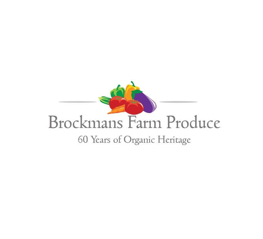 #30 for Design a Logo for an Organic Farm by AlyDD