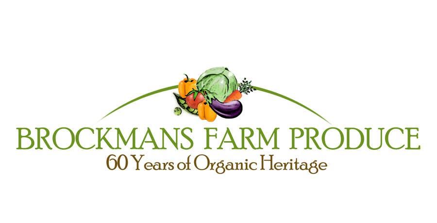 #102 for Design a Logo for an Organic Farm by galinadrumeva