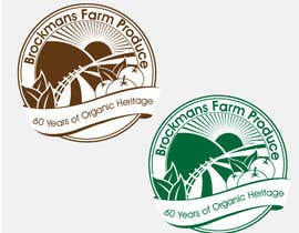 #91 para Design a Logo for an Organic Farm por MBBrodz
