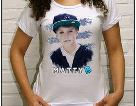 nº 29 pour Design a T-Shirt for MattyB par NickCorpus