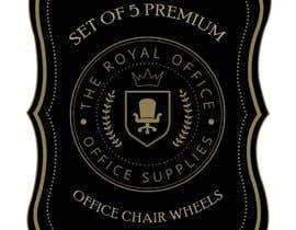 """Nro 66 kilpailuun design a label for a luxury office brand called """"The royal office"""" käyttäjältä madhyastudio"""