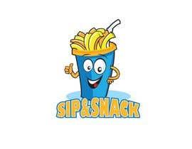 jiamun tarafından Sip & Snack (french fries business logo) için no 16