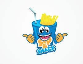 EfficientMan tarafından Sip & Snack (french fries business logo) için no 17