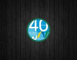 Nro 203 kilpailuun 40th Anniversary Logo käyttäjältä Blacktask