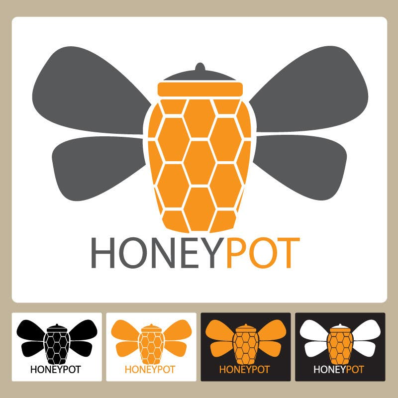 Contest Entry #28 for Design a Logo for  Honey Pot