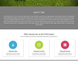 #8 for Build a Website for a Golf Instructor by sharathnb12345