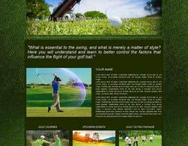 #6 for Build a Website for a Golf Instructor by DulaniA