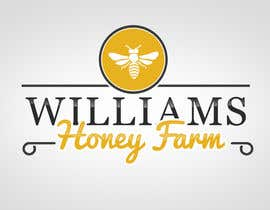 #98 para Design a Logo for Williams Honey Farm por MonsterGraphics
