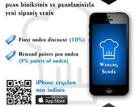 stniavla tarafından Design a Brochure for Restaurants (iPhone App & Website Ordering) için no 5