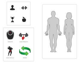 #1 for Design some Icons for a fitness app - repost af raikulung