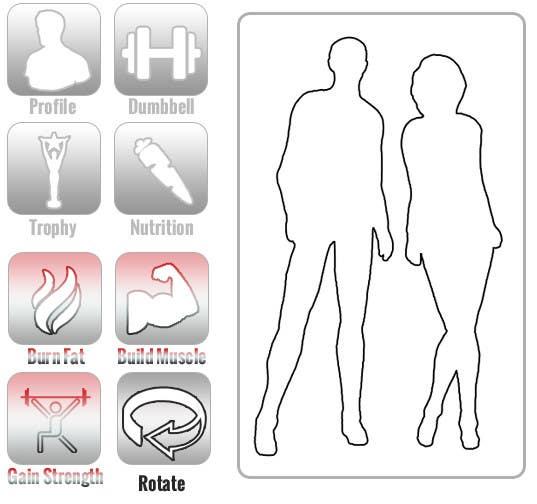 Penyertaan Peraduan #10 untuk Design some Icons for a fitness app - repost