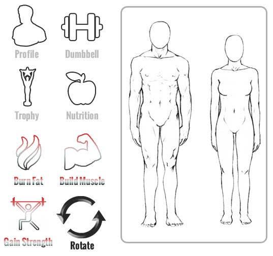 Penyertaan Peraduan #11 untuk Design some Icons for a fitness app - repost