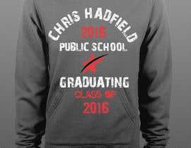 Nro 9 kilpailuun Design a T-Shirt for 2016 Graduates käyttäjältä nobelahamed19