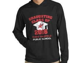 Nro 10 kilpailuun Design a T-Shirt for 2016 Graduates käyttäjältä Naumovski
