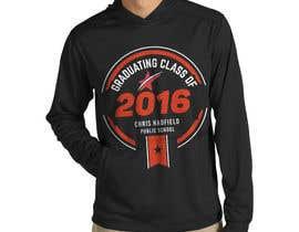 Nro 13 kilpailuun Design a T-Shirt for 2016 Graduates käyttäjältä Naumovski