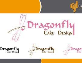 CasteloGD tarafından Design a Logo for Dragonfly Cake Design. 1/2 done already için no 11