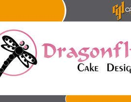 nº 18 pour Design a Logo for Dragonfly Cake Design. 1/2 done already par CasteloGD