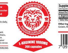 briangeneral tarafından Supplement Label Design için no 1