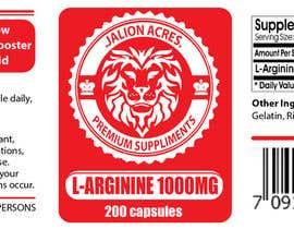 briangeneral tarafından Supplement Label Design için no 3