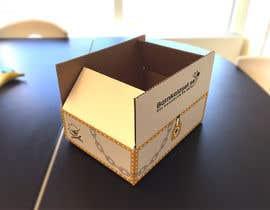 Nro 19 kilpailuun Design a cardboard box to look like a treasure chest. käyttäjältä martinaobertova
