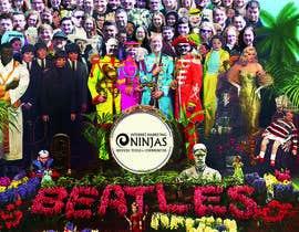 "Nro 3 kilpailuun Create ""Beatles - Sgt. Peppers"" inspired image for a local company käyttäjältä FreelanceGreg"