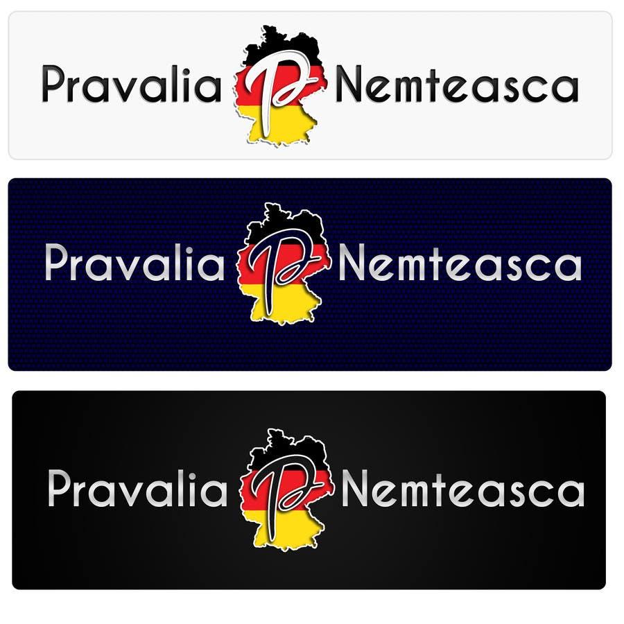 Penyertaan Peraduan #26 untuk Realizează un design de logo for Pravalia Nemteasca