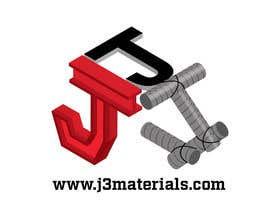 Nro 1 kilpailuun J3 Materials Logo käyttäjältä tengkushahril
