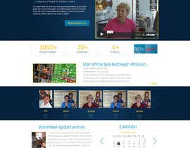 #4 para Design a Website Mockup for fast growing nonprofit food pantry por designBox16