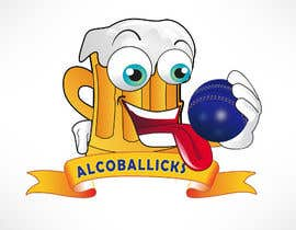 nº 22 pour Design a Logo for Alcoballicks par renatomeneses