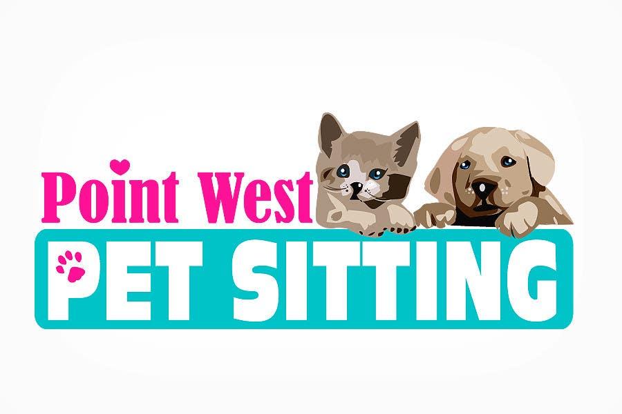 Kilpailutyö #                                        686                                      kilpailussa                                         Logo Design for Point West Pet Sitting