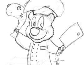 #11 for Restaurant Logo Design - drawing a wombat whos a chef! by allentmatthews