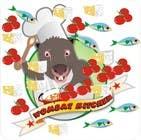Proposition n° 33 du concours Graphic Design pour Restaurant Logo Design - drawing a wombat whos a chef!