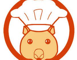 #14 for Restaurant Logo Design - drawing a wombat whos a chef! by Vivienka