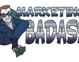 """Nro 15 kilpailuun Logo Design """"Marketing Badass"""" - Cartoon of Me käyttäjältä riannemeyers"""