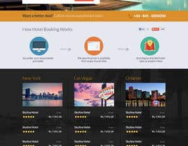 #22 cho Hotel booking website mockup bởi uniqueclick