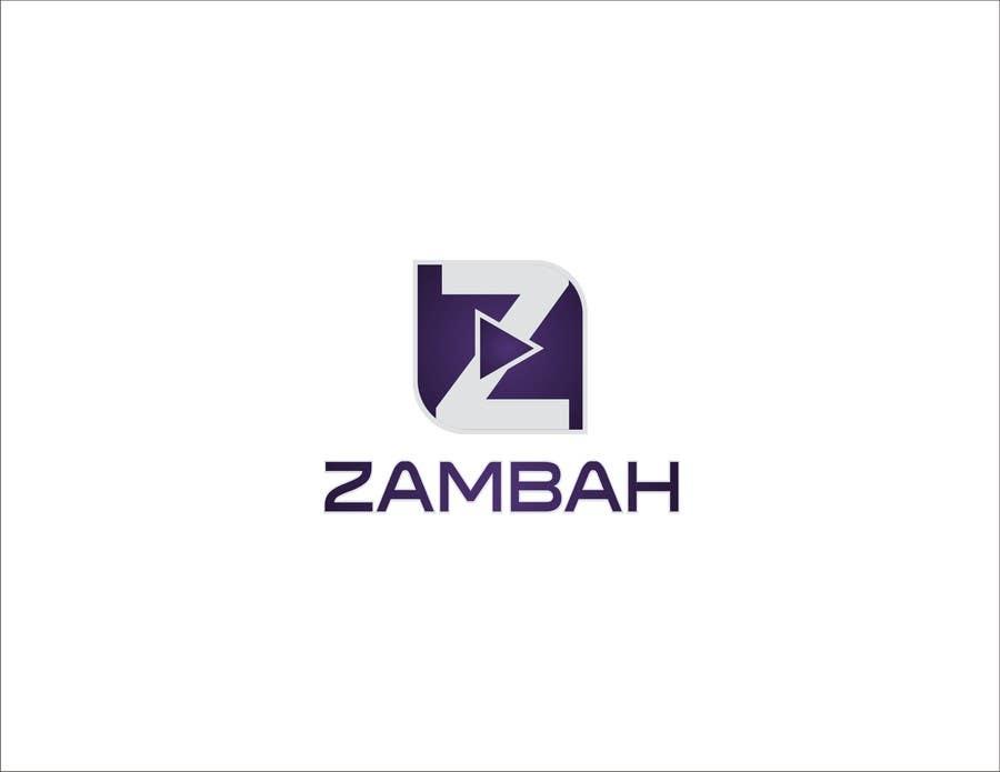 Kilpailutyö #48 kilpailussa Design a Logo for Zambah app