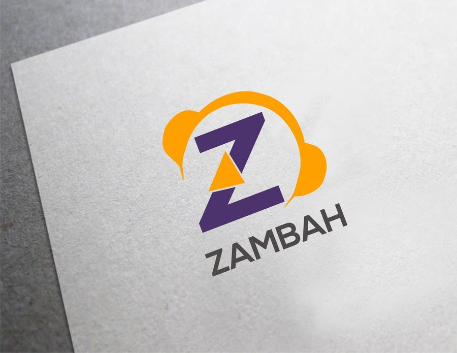 Kilpailutyö #68 kilpailussa Design a Logo for Zambah app