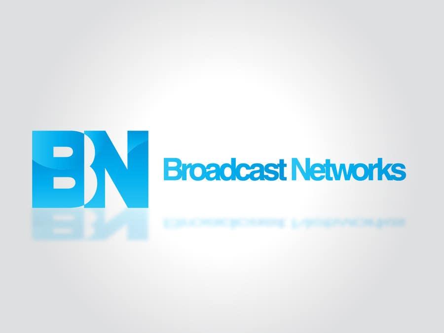 Kilpailutyö #93 kilpailussa Design a Logo for Broadcast Networks, LLC.