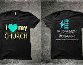 #23 para Design a T-Shirt for The Empowerment Church por reblien