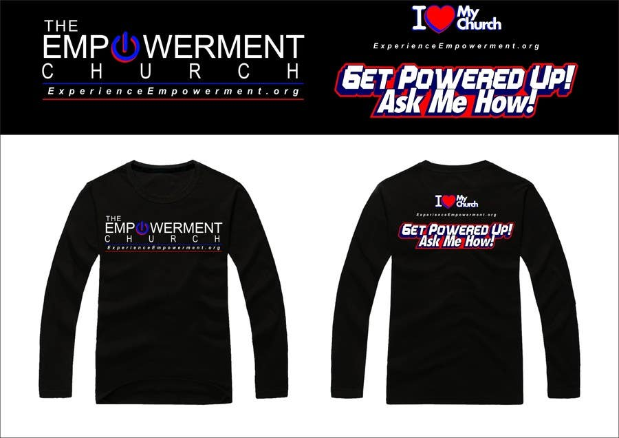 Proposition n°27 du concours Design a T-Shirt for The Empowerment Church